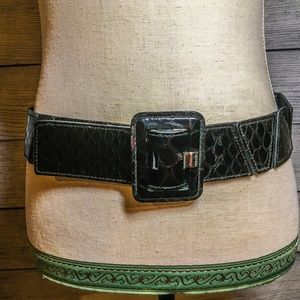 Vintage Women's Alligator Belt Stretch Base XL